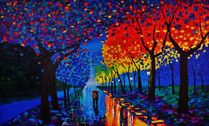 Customized Hand-Painted Wall Murals and Canvas Paintings