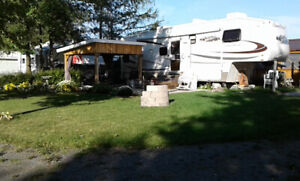 Camping lot for sale at Whispering Wind Park campground