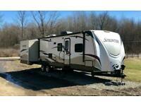 2013 Keystone Sprinter 323BH 2BED American Caravan RV 5th Wheel Showmans Trailer