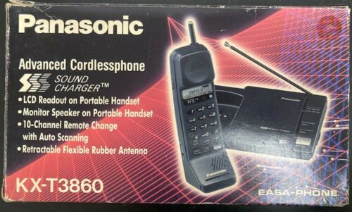 Panasonic Advanced Cordless Phone KX-T3860