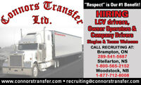 Join the Connors Transfer Team