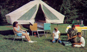WANTED:Vintage 60s era tent trailer