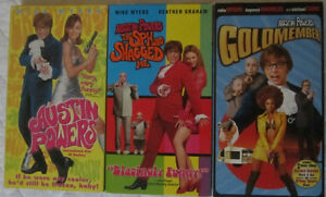 Austin Powers Trilogy (VHS)