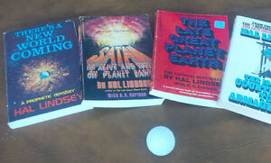 4 Hal Lindsey Books - Trade Paperbacks