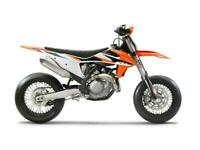 KTM SMR 450 2021 SUPERMOTO BIKE BRAND NEW