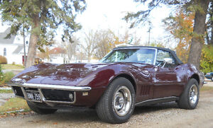 68 Corvette Convertible Price Reduced till end of May