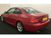 2007 BMW 320D 2.0 TD M-SPORT COUPE GOOD / BAD CREDIT CAR FINANCE AVAILABLE