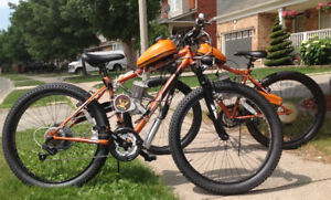 Motorized Chopper & Fat  Wheel Gas Bikes  from $600 & UP !