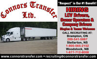 LCV Experienced Drivers Needed