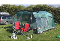 Outwell Birdland 3 + Fitted Canopy + carpet + footprint