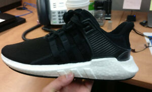 EQT Support Adv 93 17 Boost Leather Black Size 10 (DeadStock)