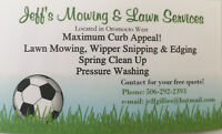 Jeff's Mowing & Lawn Services (Oromocto Area)