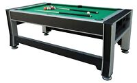 TRIUMPH 3 IN 1 GAME TABLE: TENNIS, AIR HOCKEY AND POOL