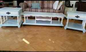 Refinished table set