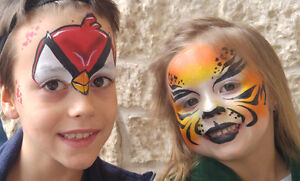 Face Painting Service and Glitter Tattoos - $80/hour