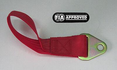 Abschleppschlaufe FIA DMSB 30cm Tow strap Tow hook Rallye Racing Motorsport