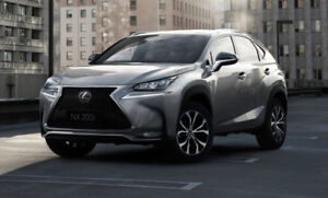 Looking for a Lexus NX200t or NX300