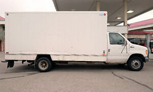 1998 Ford E-SUPERDUTY 16'cube van with 7.3l POWERSTROKE diesel