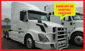 2007 VOLVO 630, NO DPF Free all Safeties/Certified or $5000 OFF