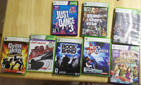 XBOX 360 SLIM + KINECT + CABLES +  CONTROLLERS + 7 GAMES