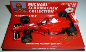 Michael Schumacher F310B 1997 1/43 Edition 43 Nr 35 Minichmps F1