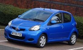 2009 58 Toyota AYGO 1.0 998cc VVT-i Blue, 5 Doors, 62k Low Mileage