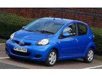 2009 58 Toyota AYGO 1.0 998cc VVT-i Blue, 5 Doors, 62k Low Mileage