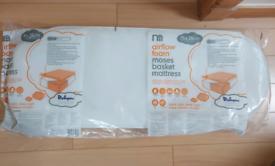 New Mothercare Airflow Foam Moses Basket Mattress
