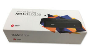 New Infomir MAG 322 & 322 W1 and MAG 256 IPTV Box