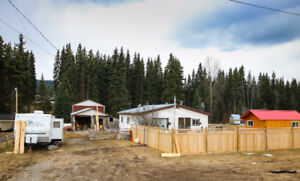 Affordable Acreage East of Burns Lake: Galloway Rd