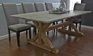 Handmade Solid wood tables locally made