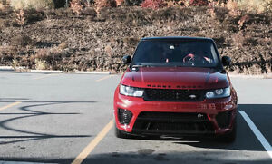 2016 Land Rover Range Rover Sport V8 Supercharged SUV, Crossover