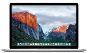 Macbook pro 15.4-inch quad core i7 with retina display