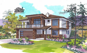 Salmon Arm - 2017 Grade Level Entry Home Under Construction