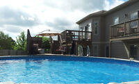 Waterview with POOL!!  A Must See!!!