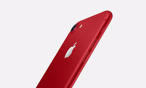 Brand New Sealed in Box iPhone 7 Red 128 GB with Rogers