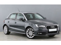 GREY AUDI A1 1.0 1.2 1.4 T FSI SPORTBACK S LINE BLACK EDITION FROM £77 PER WEEK!