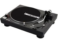 Pair of Reloop 1000M turntables (beltdrives)