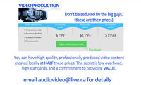 Your business or service NEEDS a video
