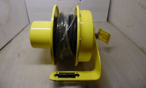 Conductix Cable Reel  with 40' of 600V 12/3 SOW-A Cable New