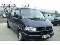VOLKSWAGEN CARAVELLE T4 LONG NOSE 2.5TDI 102PS AUTO TOP SPEC LEATHER 8 SEATS LWB