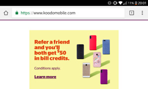 50$KOODO https://referafriend.koodomobile.com/5qOMM2a-R6yhEem