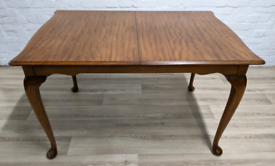 Queen Anne Extending Dining Table (DELIVERY AVAILABLE)