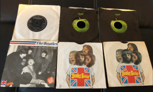 Various Vintage Beatles/Wings/Solo '45 RPM Records