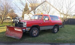 1991 Dodge RAMCHARGER Limited Edition CLASSIC SUV