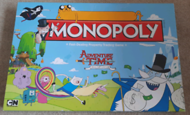 ADVENTURE TIME COLLECTOR'S EDITION MONOPOLY BOARD GAME Hasbro