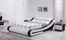 Solid PU leather bed frame (Double/Queen/King) Bundall Gold Coast City Preview