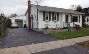 3 Room House, Pet Friendly, Garage, Yard, North side Fredericton