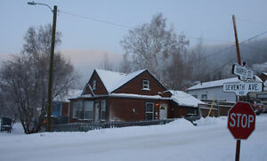 Dawson City home with detached Garage & Workshop