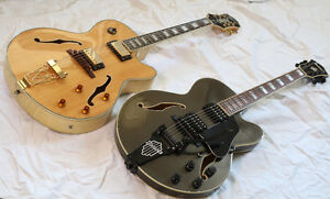 Gibson Epiphone Joe Pass ET IBANEZ AFS77T